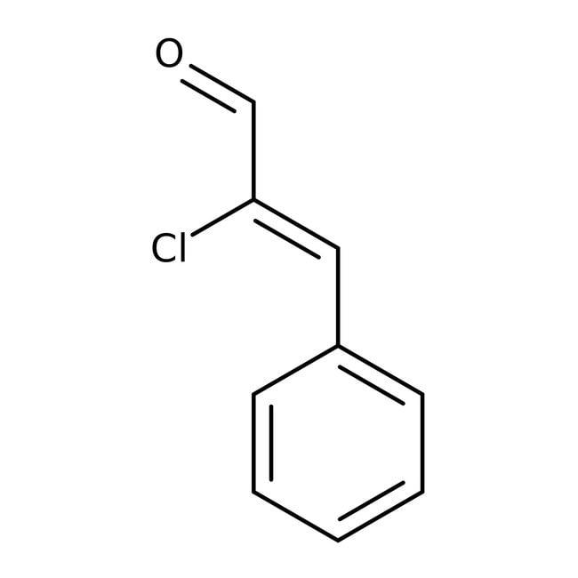 alpha-Chlorocinnamaldehyde, 90+%, Acros Organics 100g; Glass bottle alpha-Chlorocinnamaldehyde, 90+%, Acros Organics