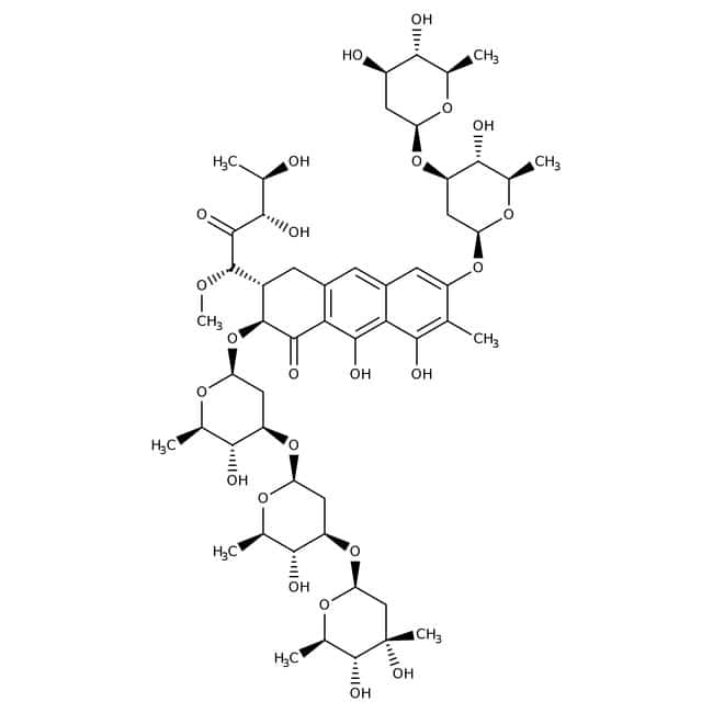 Mithramycin A, 90%, Acros Organics™ 25mg Mithramycin A, 90%, Acros Organics™
