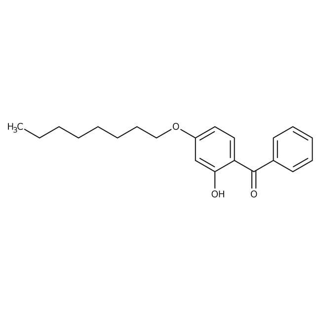 Alfa Aesar™2-Hydroxy-4-n-octyloxybenzophenone, 99%: Benzene and substituted derivatives Benzenoids