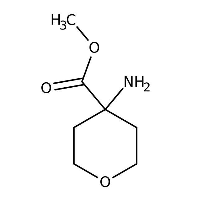 Methyle4-aminotetrahydropyran-4-carboxylat-Hydrochlorid, 95%, Maybridge Braunglasflasche, 1g Methyle4-aminotetrahydropyran-4-carboxylat-Hydrochlorid, 95%, Maybridge