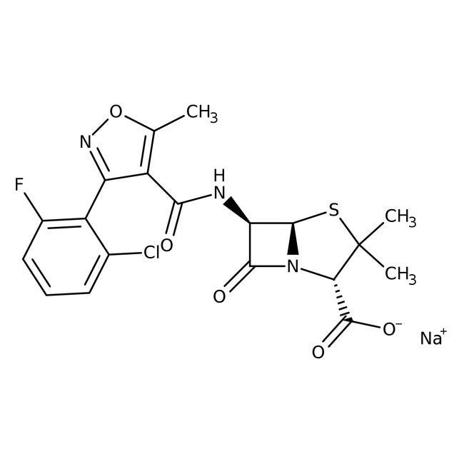 Flucloxacillin, sodium salt, 98%, Acros Organics