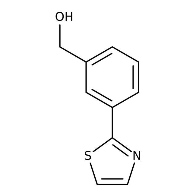 [3-(1,3-Thiazol-2-yl)phenyl]methanol, 97%, Maybridge™: Benzene and substituted derivatives Benzenoids