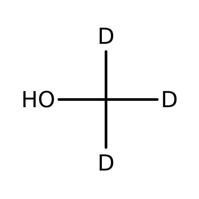 Methanol-d3, für die NMR-Spektroskopie, 99.5 Atom-% D, ACROS Organics™ 10ml-Glasflasche Methanol-d3, für die NMR-Spektroskopie, 99.5 Atom-% D, ACROS Organics™