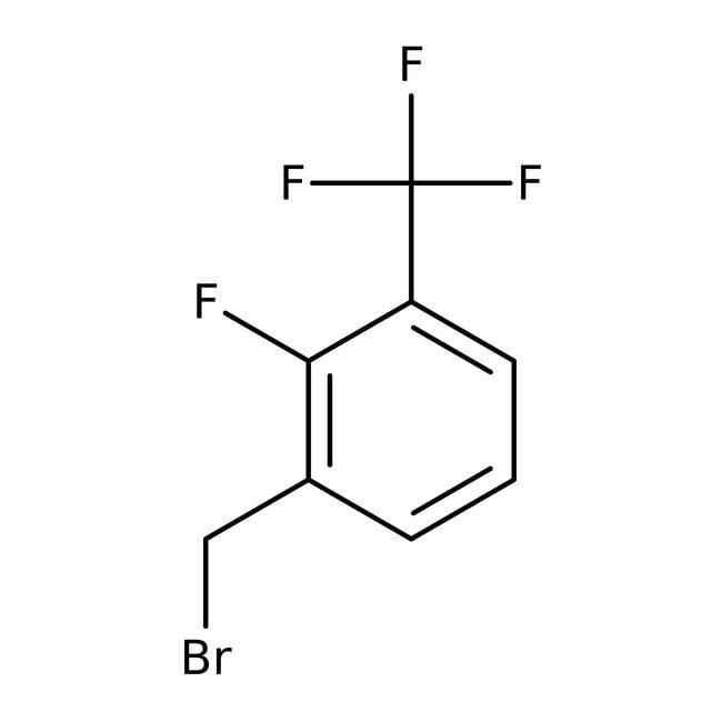 Alfa Aesar™Bromuro de 2-fluoro-3-(trifluorometil)bencilo, 97% 1g Alfa Aesar™Bromuro de 2-fluoro-3-(trifluorometil)bencilo, 97%