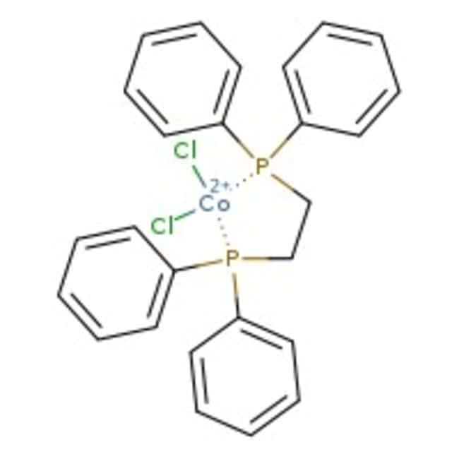 Dichloro[bis(1,2-diphenylphosphino)ethane]cobalt(II), 97%, Alfa Aesar™