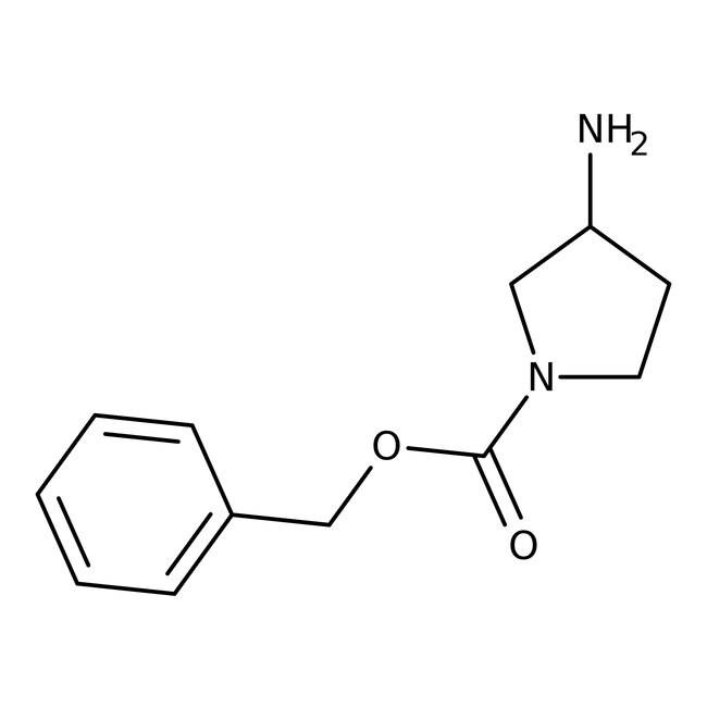 Alfa Aesar™(+/-)-3-Amino-1-(benzyloxycarbonyl)pyrrolidine 250mg Alfa Aesar™(+/-)-3-Amino-1-(benzyloxycarbonyl)pyrrolidine