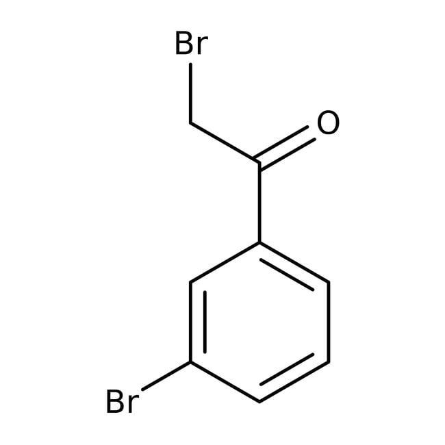 Alfa Aesar™2,3'-Dibromoacetofenona, 97% 1g Alfa Aesar™2,3'-Dibromoacetofenona, 97%