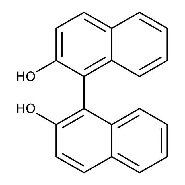 (R)-(+)-1,1'-Bi-2-naphthol, 99%, ACROS Organics™ 1g; Glass bottle (R)-(+)-1,1'-Bi-2-naphthol, 99%, ACROS Organics™