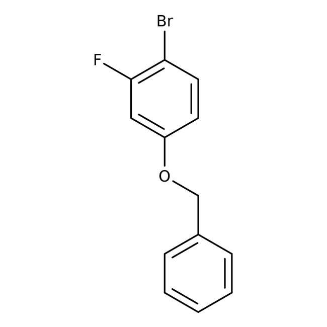 Alfa Aesar™4-Benzyloxy-1-bromo-2-fluorobenzene, 98% 25g prodotti trovati