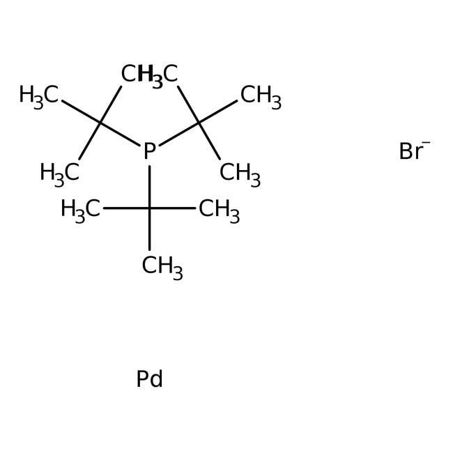 Alfa Aesar™Di-mu-bromobis(tri-tert-butylphosphine)dipalladium(I)