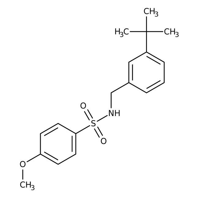 Alfa Aesar™N-(3-tert-Butylbenzyl)-4-methoxybenzenesulfonamide, 97% 250mg prodotti trovati