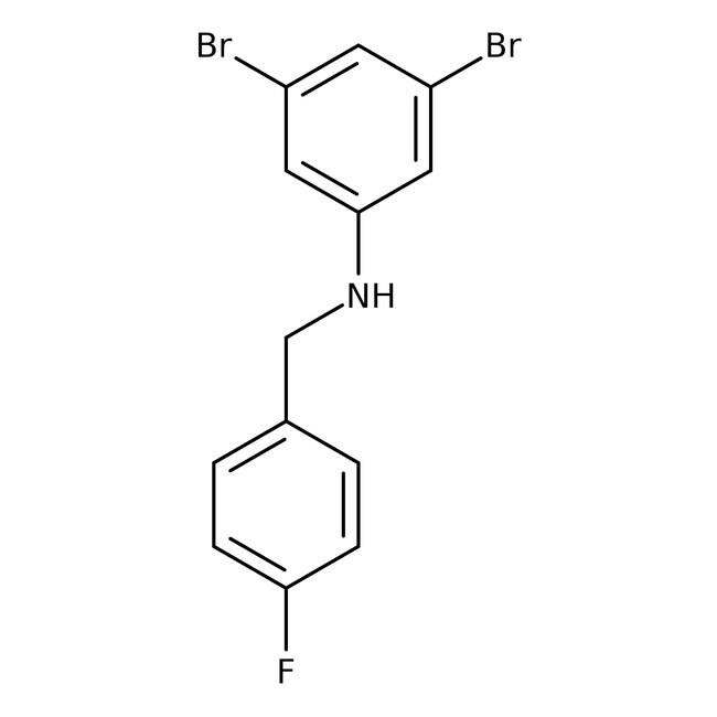 Alfa Aesar™3,5-Dibrom-N-(4-fluorobenzyl)anilin, 97% 250mg Produkte
