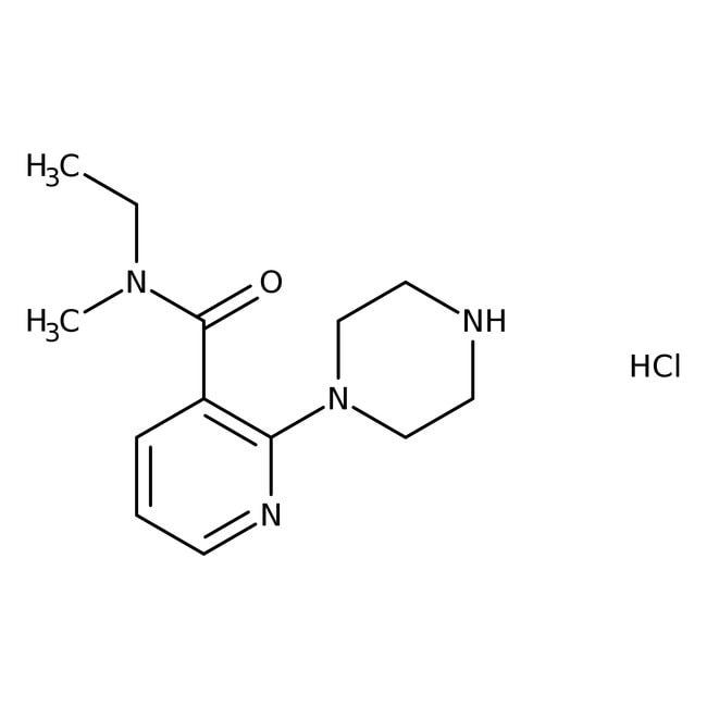 Alfa Aesar™N-Ethyl-N-methyl-2-(1-piperazinyl)nicotinamide hydrochloride, 97+%