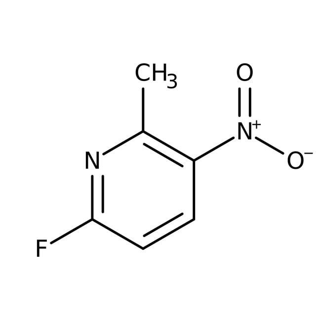 Alfa Aesar™6-Fluoro-2-methyl-3-nitropyridine, 98%