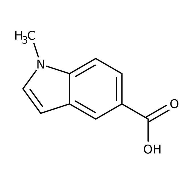 1-Methyl-1H-indole-5-carboxylic acid, 95%, Maybridge™: Indolecarboxylic acids and derivatives Indoles and derivatives