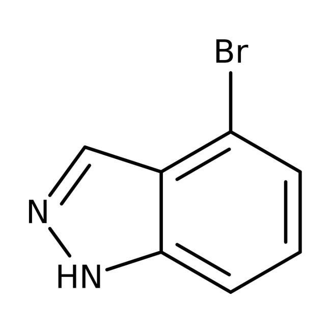 Alfa Aesar™4-Bromo-1H-indazole, ≥97% 5g Alfa Aesar™4-Bromo-1H-indazole, ≥97%