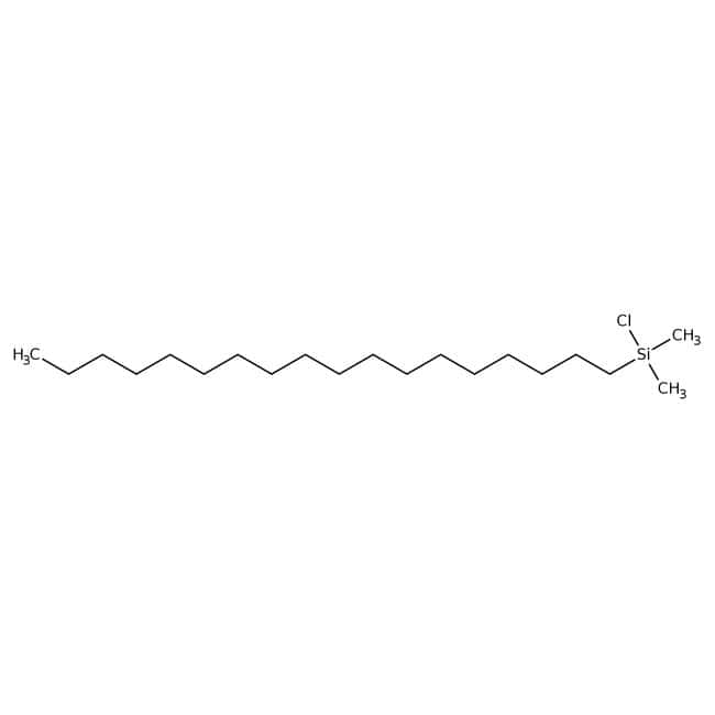 Alfa Aesar  Chlorodimethyl-n-octadecylsilane, tech. 90%, cont. 5-10% branched isomers