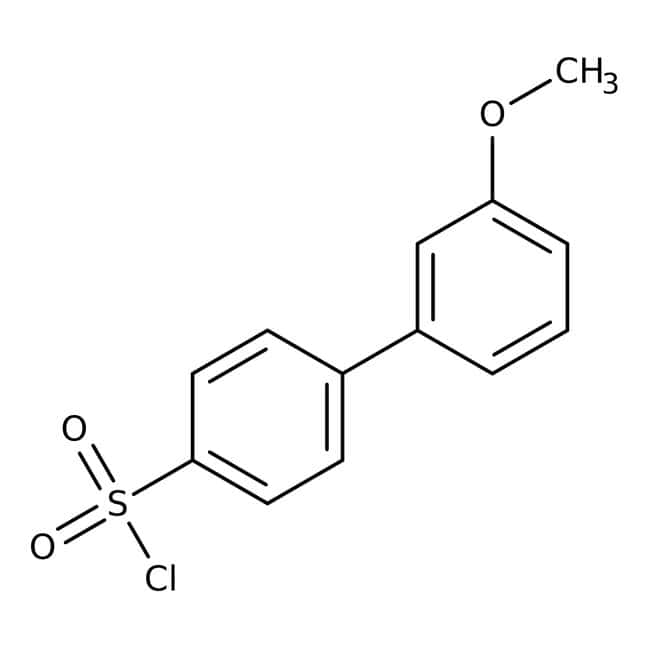 3'-Methoxybiphenyl-4-Sulfonylchlorid, 95%, Acros Organics 5g 3'-Methoxybiphenyl-4-Sulfonylchlorid, 95%, Acros Organics