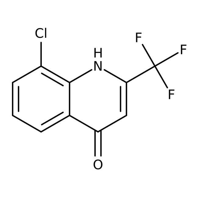 Alfa Aesar™8-Chloro-4-hydroxy-2-(trifluoromethyl)quinoline, 97%: Chemicals Products