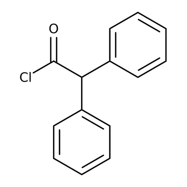 Diphenylacetyl chloride, 97.5%, ACROS Organics™