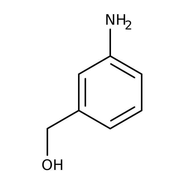 Alfa Aesar™3-Aminobenzyl alcohol, 98+%: Benzene and substituted derivatives Benzenoids