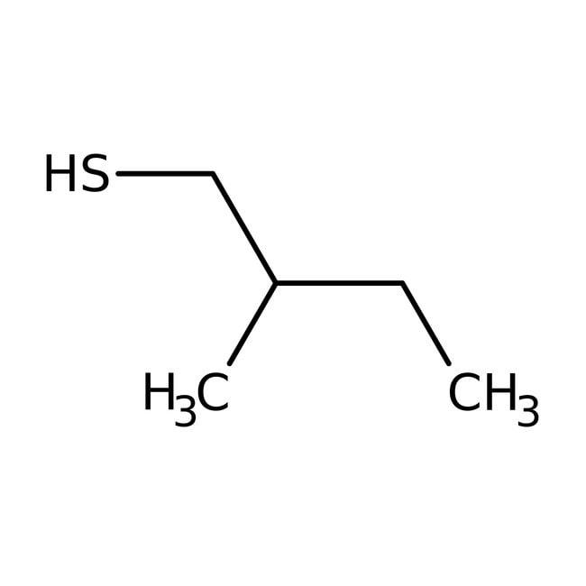 2-Methyl-1-butanethiol, 95%, ACROS Organics