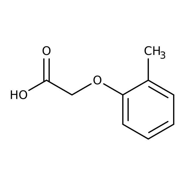 Alfa Aesar™Ácido 2-metilfenoxiacético, 98% 10g Alfa Aesar™Ácido 2-metilfenoxiacético, 98%