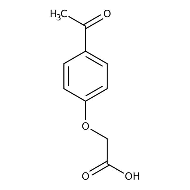 4-Acetylphenoxyacetic acid, +98%, ACROS Organics