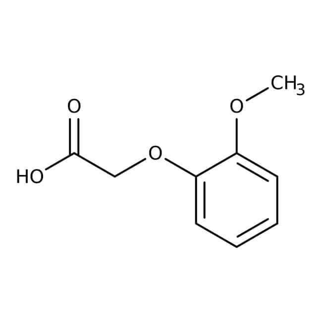 (2-Methoxyphenoxy)acetic acid, 98%, ACROS Organics™