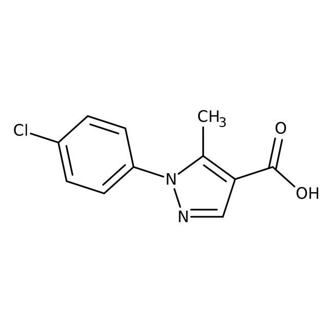 1-(4-chlorophenyl)-5-methyl-1H-pyrazole-4-carboxylic acid, 97%, Maybridge™