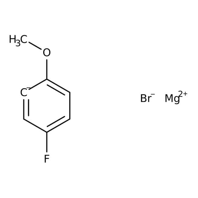 5-Fluoro-2-methoxyphenylmagnesium bromide, 0.5M solution in THF, AcroSeal , Acros Organics