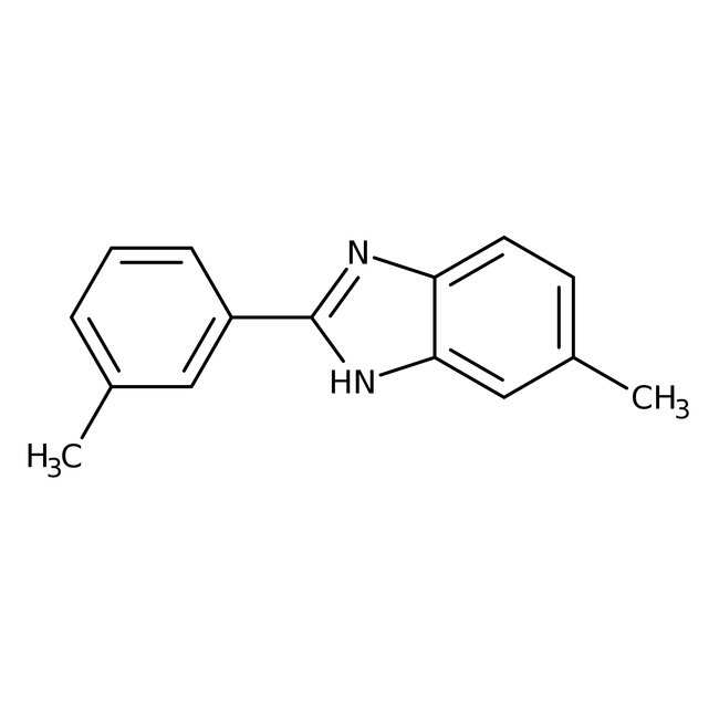 Alfa Aesar™5-Methyl-2-(3-methylphenyl)benzimidazole, 95% 250mg Alfa Aesar™5-Methyl-2-(3-methylphenyl)benzimidazole, 95%