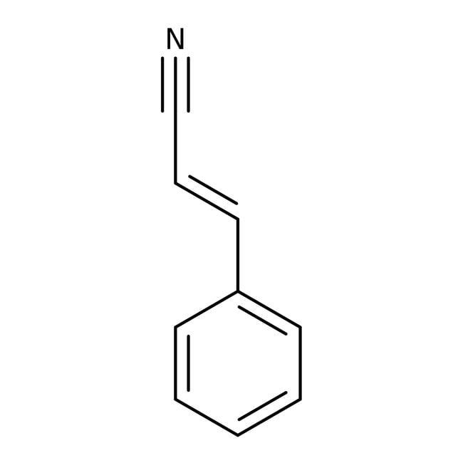 Cinnamonitril, überwiegend trans, 97%, ACROS Organics™ 25 g-Glasflasche Cinnamonitril, überwiegend trans, 97%, ACROS Organics™