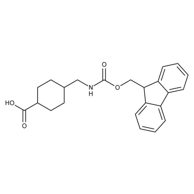 Alfa Aesar™ 4-(Fmoc-aminomethyl)cyclohexane-1-carboxylic acid, 98%