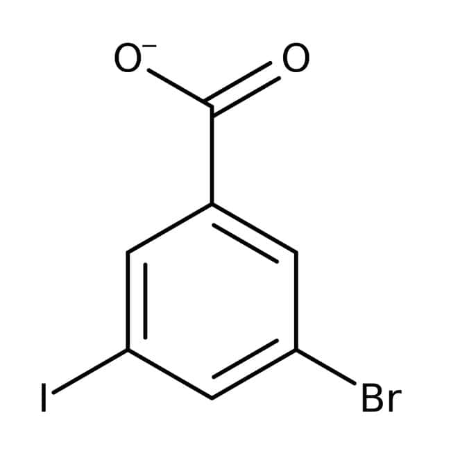 Alfa Aesar  3-Bromo-5-iodobenzoic acid, 97%