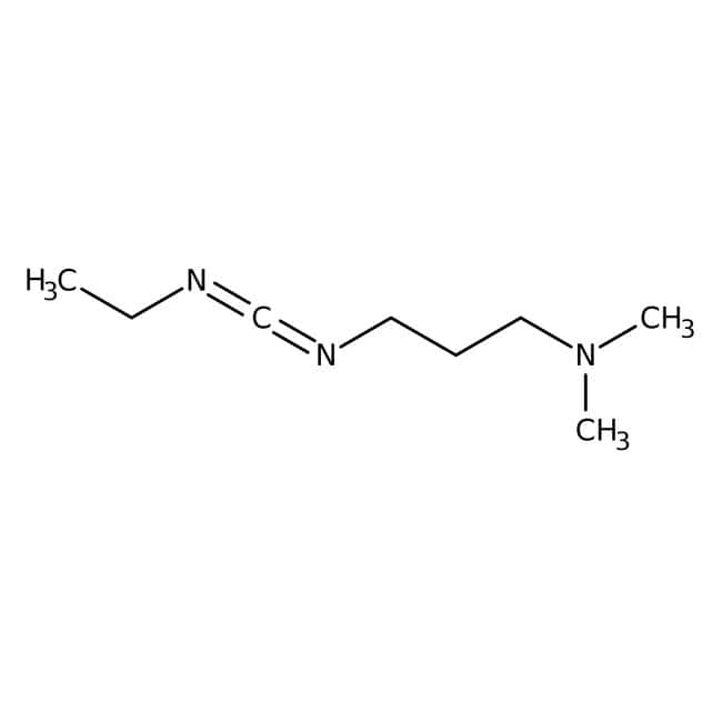 1-(3-dimethylaminopropyl)-3 -ethylcarbodiimid, 97 %, ACROS Organics™ 250 g-Glasflasche 1-(3-dimethylaminopropyl)-3 -ethylcarbodiimid, 97 %, ACROS Organics™