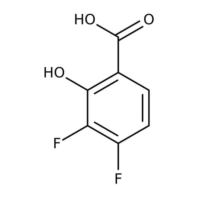 Alfa Aesar™3,4-Difluorsalicylsäure, 98% 250mg Alfa Aesar™3,4-Difluorsalicylsäure, 98%