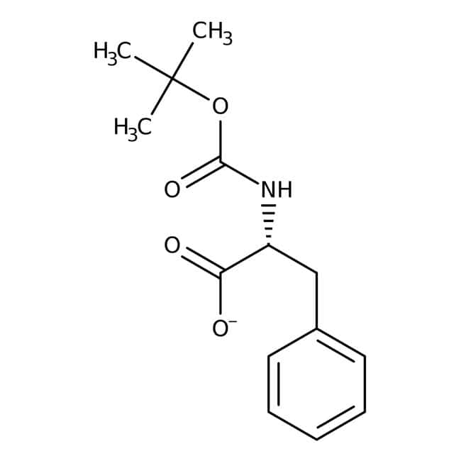 BOC-D-Phenylalanine, 99+%, ACROS Organics™ 5g; Glass bottle BOC-D-Phenylalanine, 99+%, ACROS Organics™