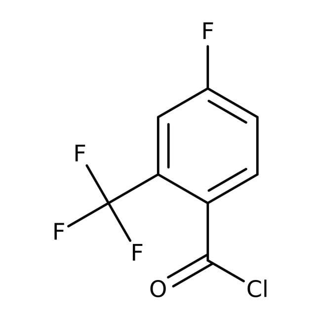 4-Fluoro-2-(trifluoromethyl)benzoyl chloride, 97%, ACROS Organics™