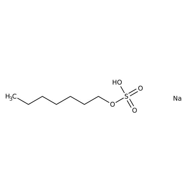 Alfa Aesar™Sodium n-heptyl sulfate, 99% (dry wt.), water <2% 1g Alfa Aesar™Sodium n-heptyl sulfate, 99% (dry wt.), water <2%