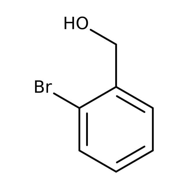 2-Bromobenzyl alcohol, 98%, ACROS Organics™ 25g; Glass bottle 2-Bromobenzyl alcohol, 98%, ACROS Organics™