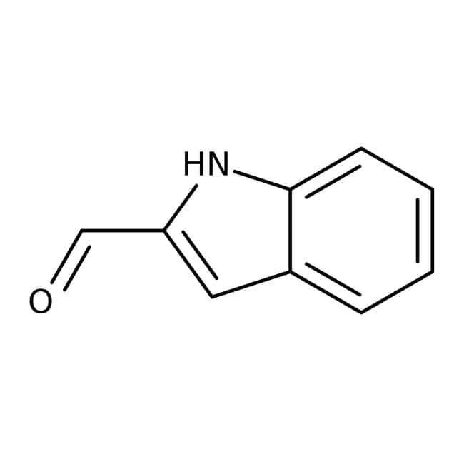 Indole-2-carboxaldehyde, 97%, ACROS Organics™ 1g; Glass bottle Indole-2-carboxaldehyde, 97%, ACROS Organics™