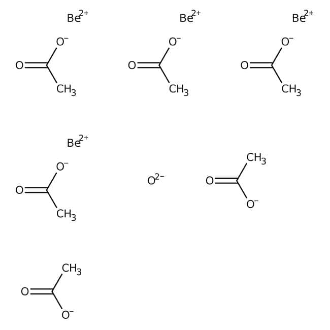 Beryllium ICP Standard, 1mL = 1mg Be (1,000ppm Be), Ricca Chemical