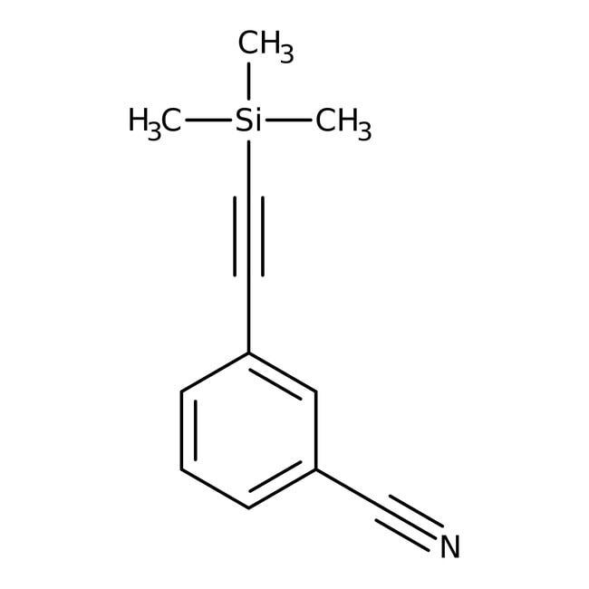 3-[(Trimethylsilyl)ethynyl]benzonitrile, 97%, Alfa Aesar™