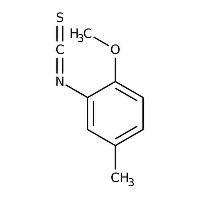 2-Methoxy-5-methylphenyl isothiocyanate, 97%, ACROS Organics