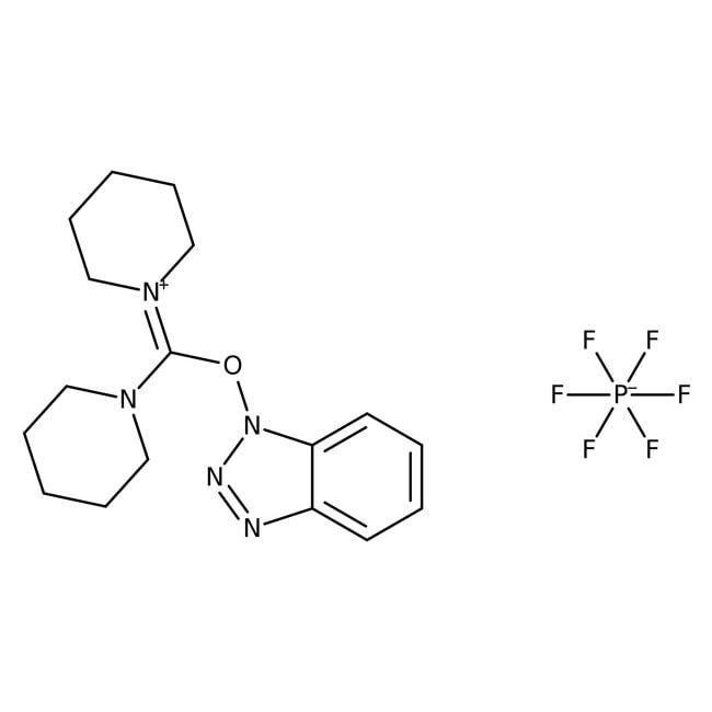 Hexafluorophosphate de (benzotriazol-1-yloxy)dipipéridinocarbenium, 98%, ACROS Organics™ 1g Hexafluorophosphate de (benzotriazol-1-yloxy)dipipéridinocarbenium, 98%, ACROS Organics™