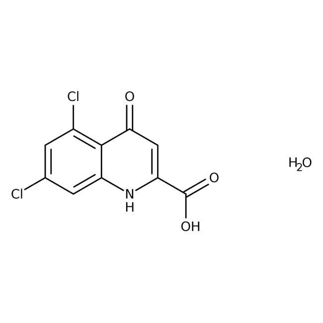 Alfa Aesar™Acide 5,7-dichlorokynurenique monohydraté 50mg Alfa Aesar™Acide 5,7-dichlorokynurenique monohydraté