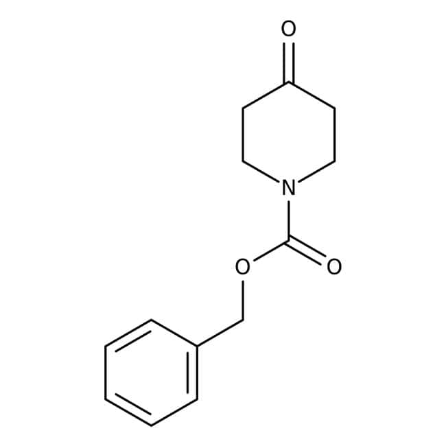 Alfa Aesar™1-Benciloxicarbonil-4-piperidona, +98% 1g Alfa Aesar™1-Benciloxicarbonil-4-piperidona, +98%
