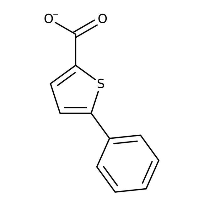 5-Phenylthiophen-2-carboxylsäure, 95%, Maybridge Braunglasflasche, 5g 5-Phenylthiophen-2-carboxylsäure, 95%, Maybridge