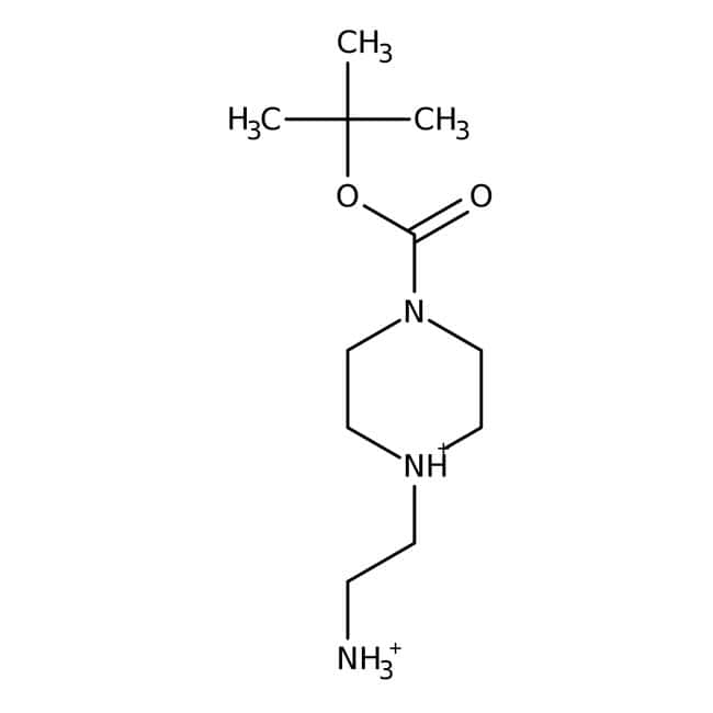 1-BOC-4-(2-aminoethyl)piperazine, 95%, ACROS Organics™ 5g 1-BOC-4-(2-aminoethyl)piperazine, 95%, ACROS Organics™